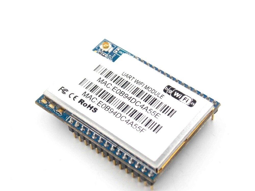 HLK-RM04 RM04 antena serie wifi doble puerto ethernet puerto serie UART a módulo WIFI no tiene antena