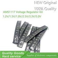 70 kit piézo régulateur de voltaje AMS1117 1,2 V/1,5 V/1,8 V/2,5 V/3,3 v/5,0 V/V/ADJ lm1117 AMS1117-1.2 AMS1117-1.8