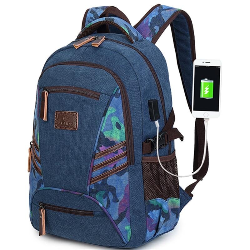 Mochila escolar de camuflaje para niños, mochila para adolescentes, ordenador portátil para bolsa para niños y niñas, mochila, mochila