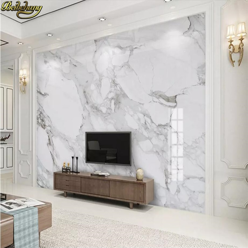 custom 3d photo wallpaper living room mural sticker surf sea sunset seascape 3d painting sofa tv background wall non woven mural beibehang custom White marble background Photo Wallpaper for Living Room Bedroom Sofa TV Background mural Wall paper 3D Painting