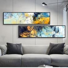 Peinture à lhuile sur toile imprimées   Tableau dart mural moderne abstrait HD, décoration de maison européenne, décoration de salon et de chambre à coucher