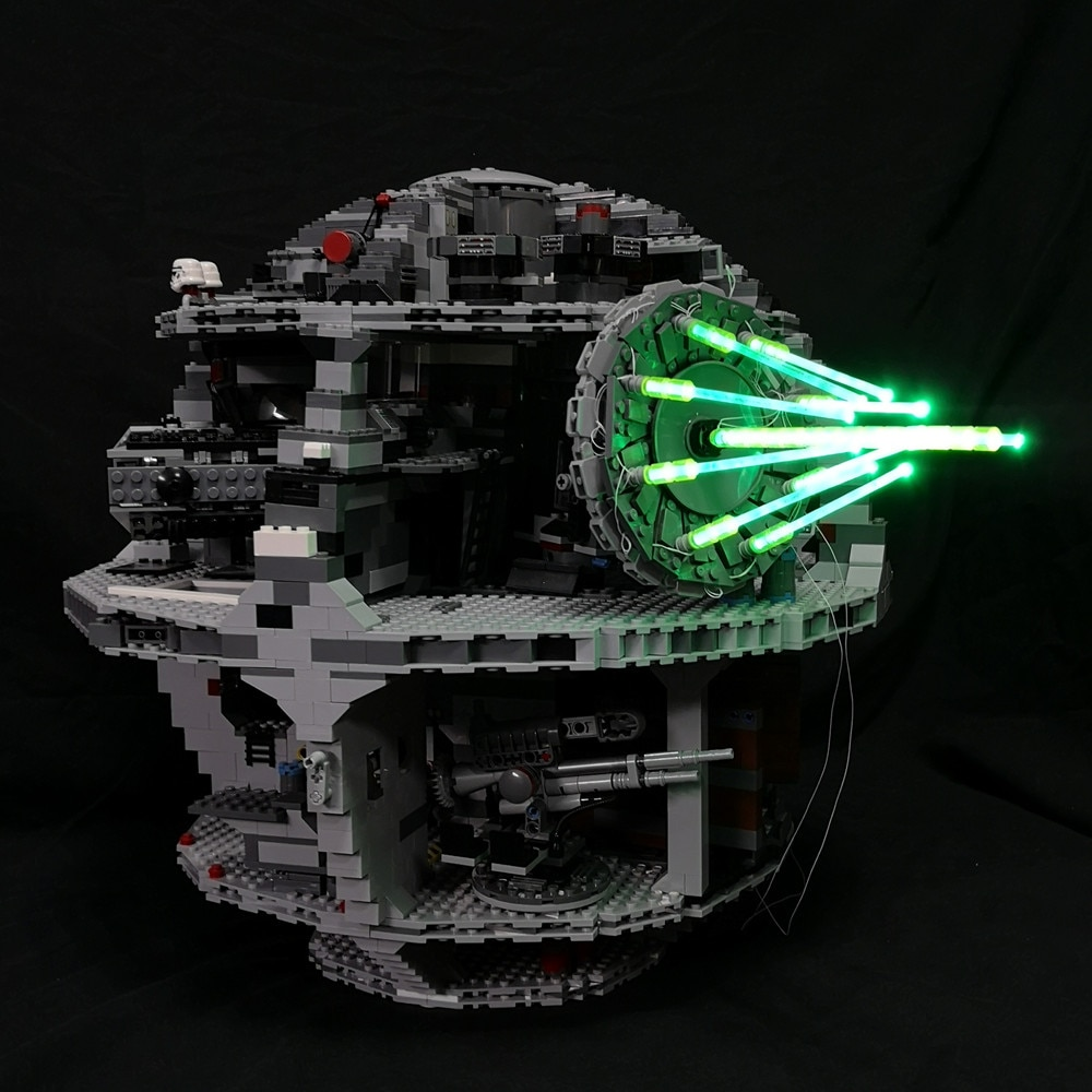 Kit de iluminación led JULITE para 10143 75159 10188 Compatible con 05026 Death Star II arma definitiva Cañón Láser
