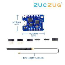 WEMOS D1 Mini Pro 16M Bytes Externe Antenne Stecker NodeMCU Basierend ESP8266 ESP-8266EX CP2104 WIFI Entwicklung Bord Micro USB