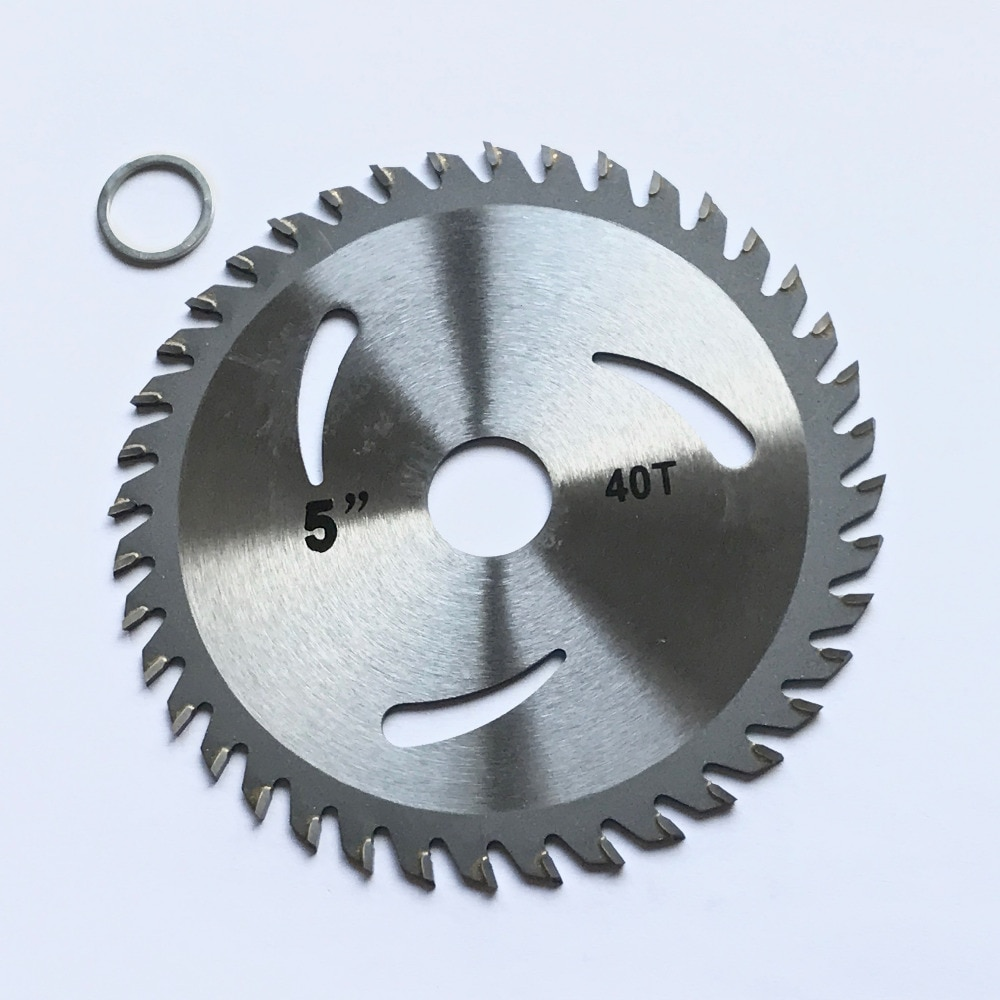 unique item only 1PC decoration grade125*22/20*30/40Z TCT saw blade for wood/MDF/plastic cutting for home DIY decoration purpose 7 80 teeth carbide circular saw blade for clean cutting laminated mdf pre laminated mdf plain mdf design mdf free shipping