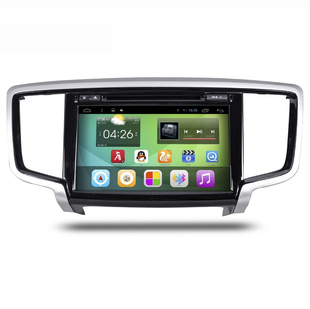 10.1 inch scherm android 4.4 auto navigatie gps systeem stereo media auto radio dvd-speler entertainment voor honda odessey