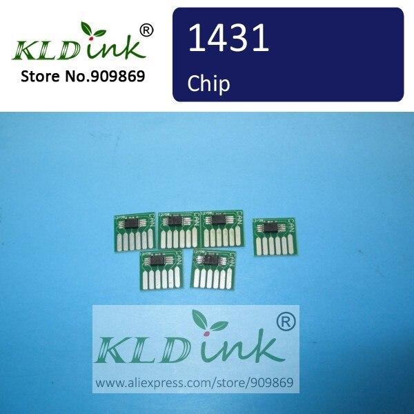 X 1 sztuk PHOTO CYAN BCI-1431PC BCI1431PC Chip kasety