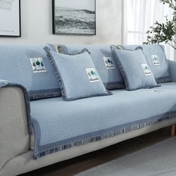 Sofa cushion, four seasons universal sofa cushion, non-slip cushion back cushion, arm towel