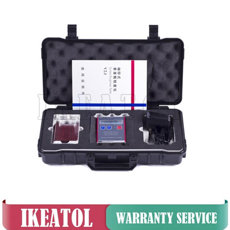 جهاز اختبار خشونة السطح المحمول Leeb451 ، مقياس احترافي رقمي ، Ra Rz Rq Rt