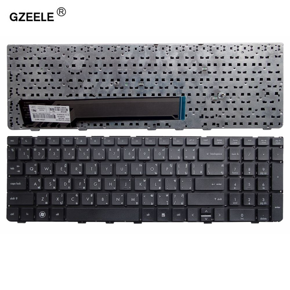 Gzeele thai teclado do portátil para hp 4530 s 4535 s 4730 s 4735 s série tailândia layout tailandês