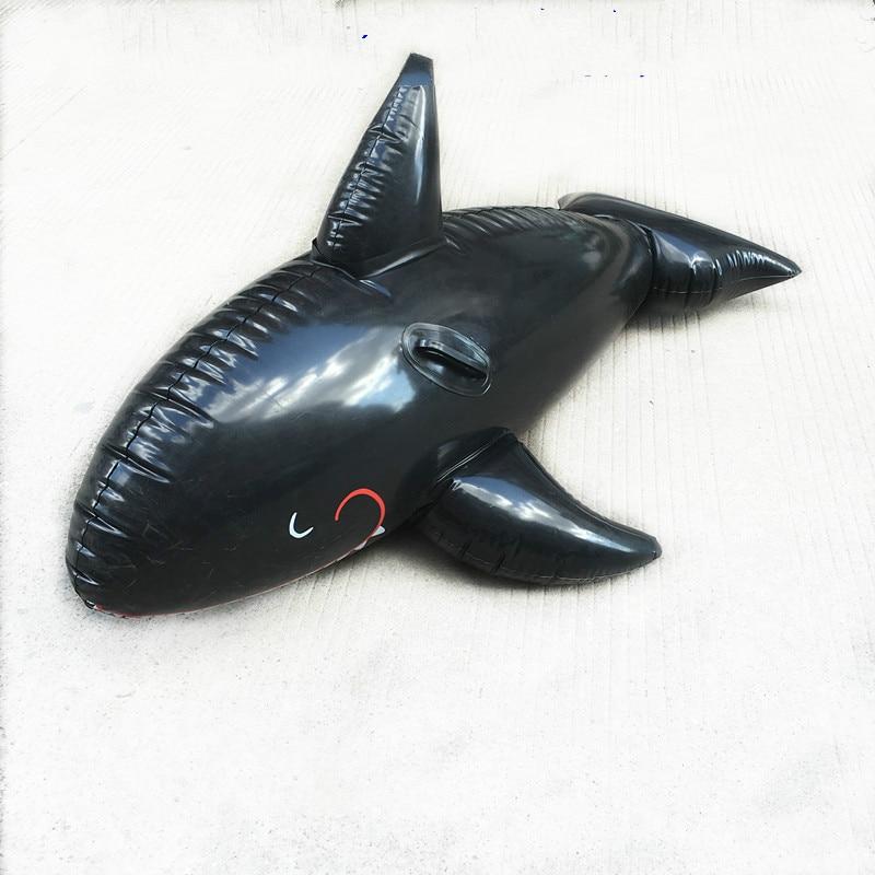 Hot sale 180cms large inflatable games shark swimming pool,outdoor inflatable games swimming toy,imitation shark decoration
