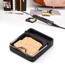 Suporte de ferro de solda para ferro de solda mini t-stand zircônia cerâmica suporte estação de solda