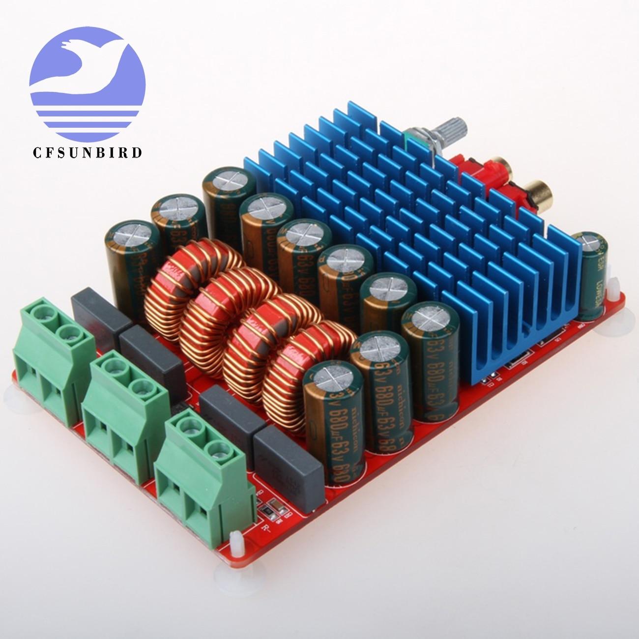 Цифровой стерео усилитель Hi Fi TAS5630 Плата усилителя класса D высокой мощности 2x300