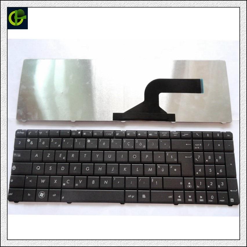 French Keyboard For Asus U50 N51 N51A N51T N51V  N60 N60Dp N70 N70SV N71 N71J N71V X54C X54X X54 Black FR AZERTY Keyboard