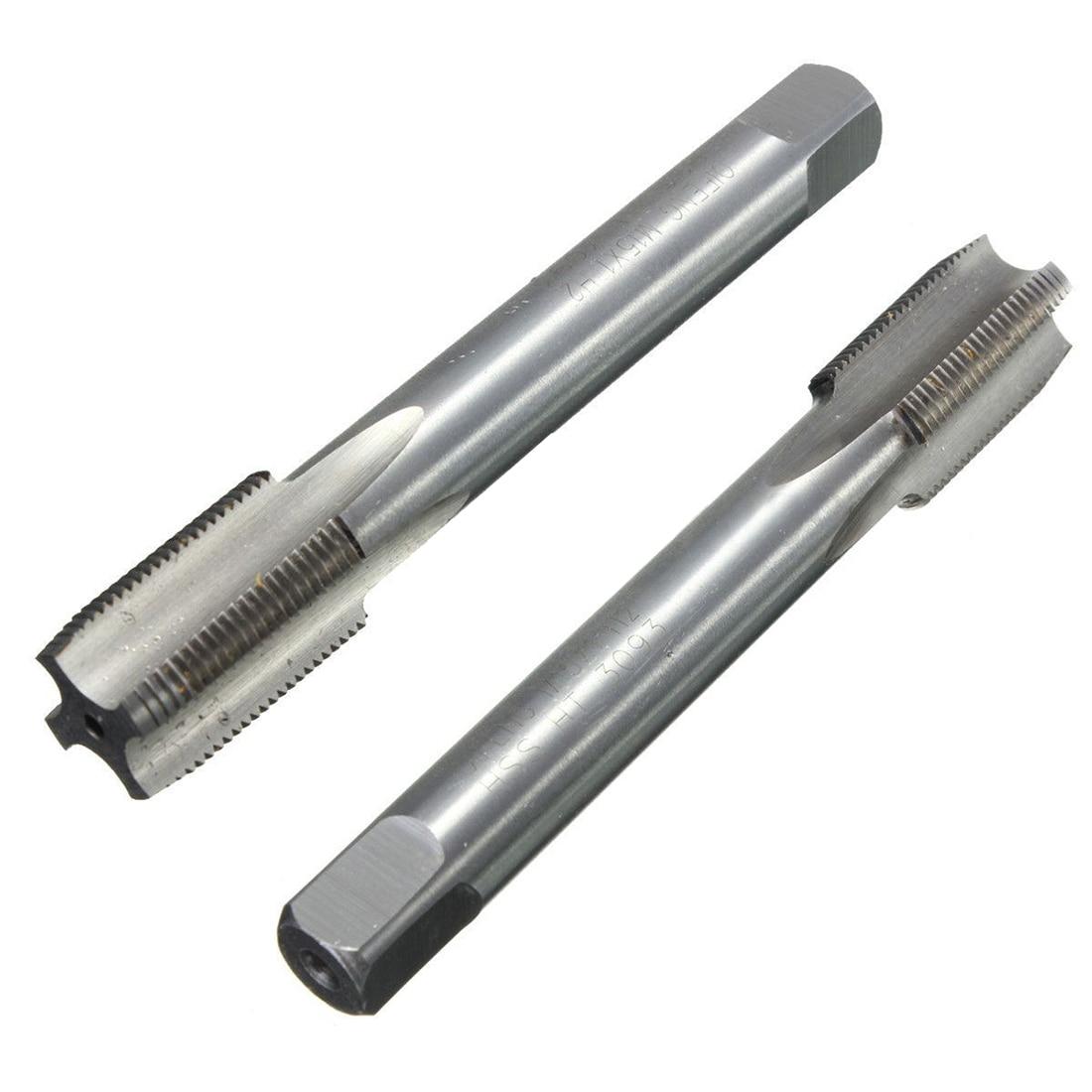 HHTL-1Pc 15mm M15 x M15 1mm Passo HSS Metric Thread Plug Cone Tubo Da Torneira Máquina Torneira