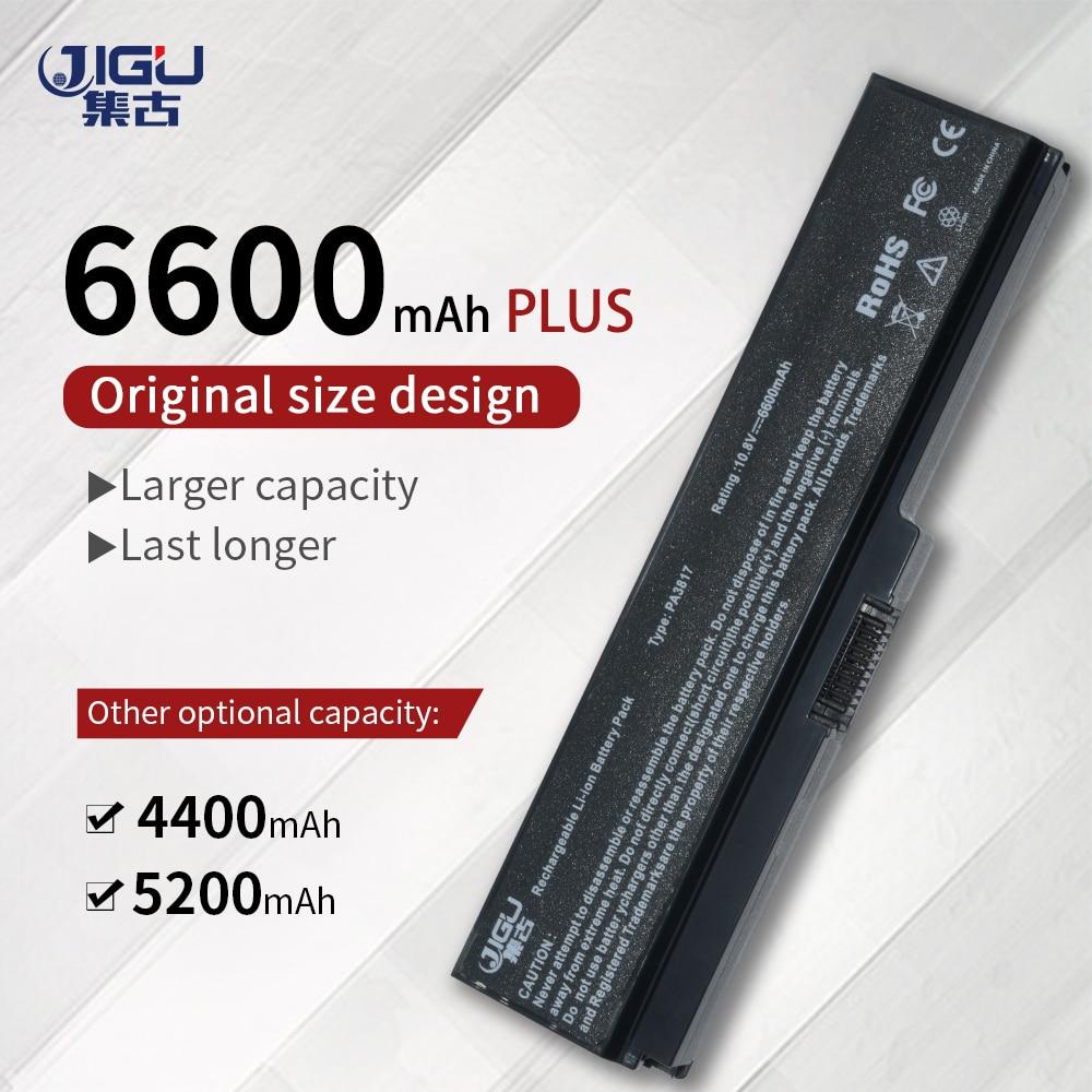 JIGU Laptop Batterie Für Toshiba Satellite A660 C640 C650 C655 L510 L630 L640 L650 U400 PA3817U-1BRS PA3816U-1BAS PA3818U-1BRS