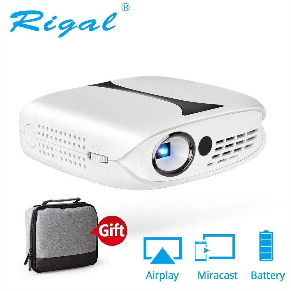 Mini proyector portátil de bolsillo dlp 3d RD-606, de gran calidad, para cine en casa, con android 1080, wifi, inteligente, 7,1 p