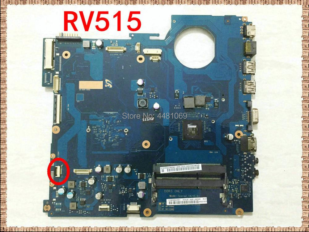 BA41-01649A BA92-08334A BA92-08334B اللوحة لابتوب سامسونج RV515 NP-RV515 BA41-01650A اللوحة الرئيسية نظام مجلس