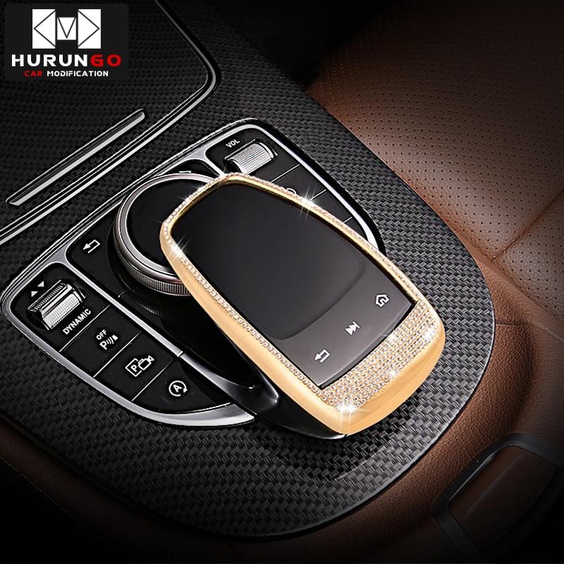 Para Mercedes Benz centro de la consola mouse táctil cubierta para Mercedes Benz C / E / S / V/GLC/sobre las CLASE DE ESTILO DE COCHE