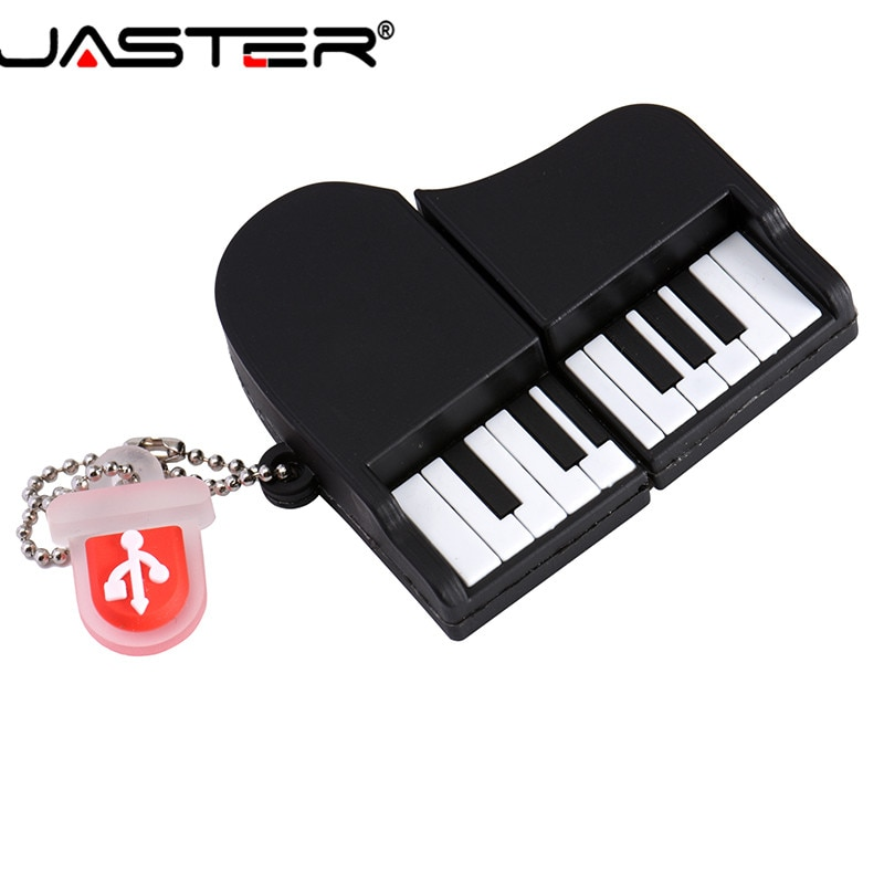 JASTER-Unidad flash USB 2,0 de piano, pendrive de 4GB, 8GB, 16GB, 32GB,...