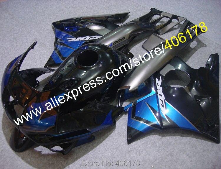 Para CBR600RR-F2 1991, 1992, 1993, 1994 CBR600RR F2 91 92 93 94 CBR 600 RR CBR 600RR azul ABS de carenado conjunto