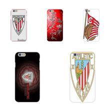 Lathletic Bilbao Logo Pour Galaxy J1 J2 J3 J330 J4 J5 J6 J7 J730 J8 2015 2016 2017 2018 mini Pro Mode Peau de Conception Mince