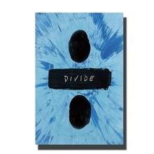 Décoration murale avec affiche artistique   Décor de salle en toile, décoration de maison, 8x12 12x18 24x36, forme de lalbum de You, Ed Sheeran, tendance