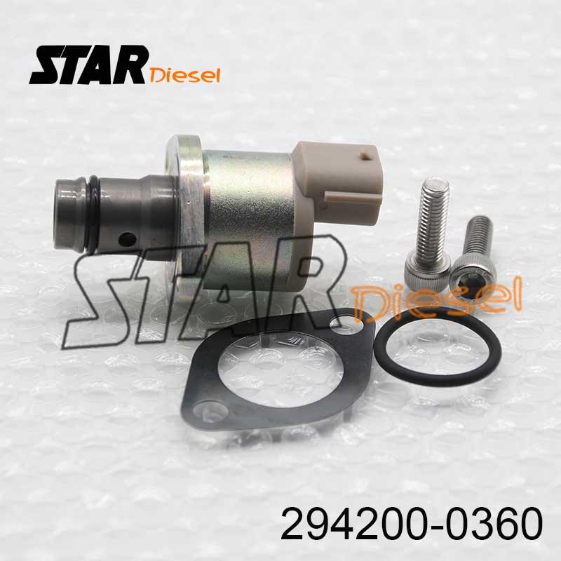 Estrella Diesel 294200-0360 de combustible válvula dosificadora de carril común válvula dosificadora 2942000360 presión válvula Reguladora 294200, 0360