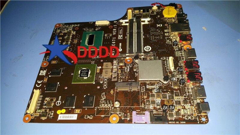 MS-AE67 الأصلي MS-AE671 MSI AG240 2PE MOHERBOARD مع وحدة المعالجة المركزية 100% العمل المثالي