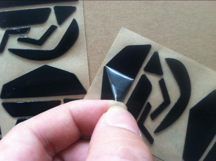 Teflon 3 M Maus Füße maus Skates Pad für Logitech G502 Laser Maus 0,6mm