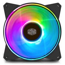 Refroidisseur Master MF120 ARGB 12cm RGB coque dordinateur PC refroidissement silencieux ventilateur pour refroidisseur de processeur radiateur refroidissement par eau 120mm PWM ventilateur silencieux