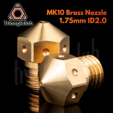 trianglelab Super high quality Micro Swiss MK10 Nozzle ID2.0MM for Micro Swiss All Metal Hotend Kit  M7 Thread 3D printer