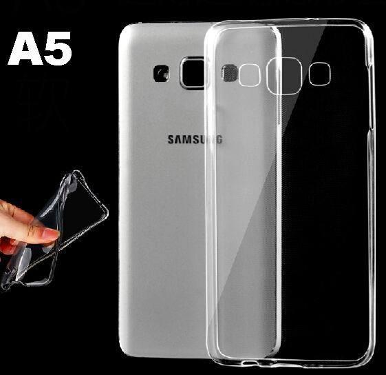 Para Samsung Galaxy A5 funda A500 SM-A500H A500F A500M transparente suave TPU gel cristalino funda transparente bolsas de piel