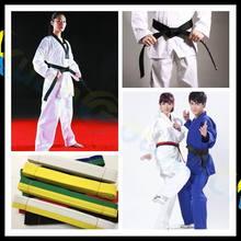 110.23 pouces Arts martiaux karaté Judo Taekwondo ceintures professionnelles Judo Jiu jitsu bandes Standard ceinture de protection