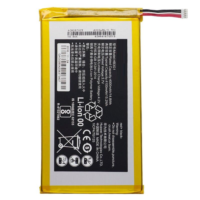 Reemplazo Tablet batería HB3G1 para Huawei S7 S7-301U 301W 302 de 303 (7 pulgadas) 701, 931, 4000mAh