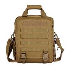 Sac à bandoulière dordinateur Portable tactique US armée militaire en plein air chasse Portable Portable Molle Durable Camouflage multifonction sac à dos