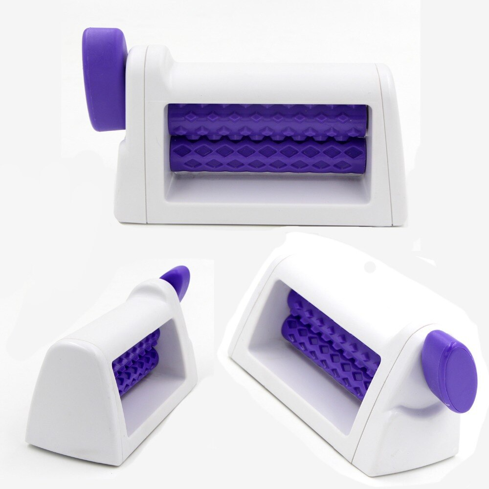 Cake Decorating Tools Plastic Rolling Pin Embosser Roller Set Baking Tools For Cakes Fondant Strip Ribbon Cutter Sugar craft