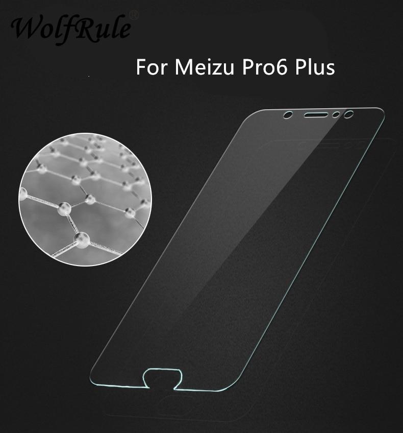 2 peças de vidro para meizu pro 6 plus protetor de tela de vidro temperado meizu pro 6 plus meizu de vidro pro6 mais filme de telefone anti-risco