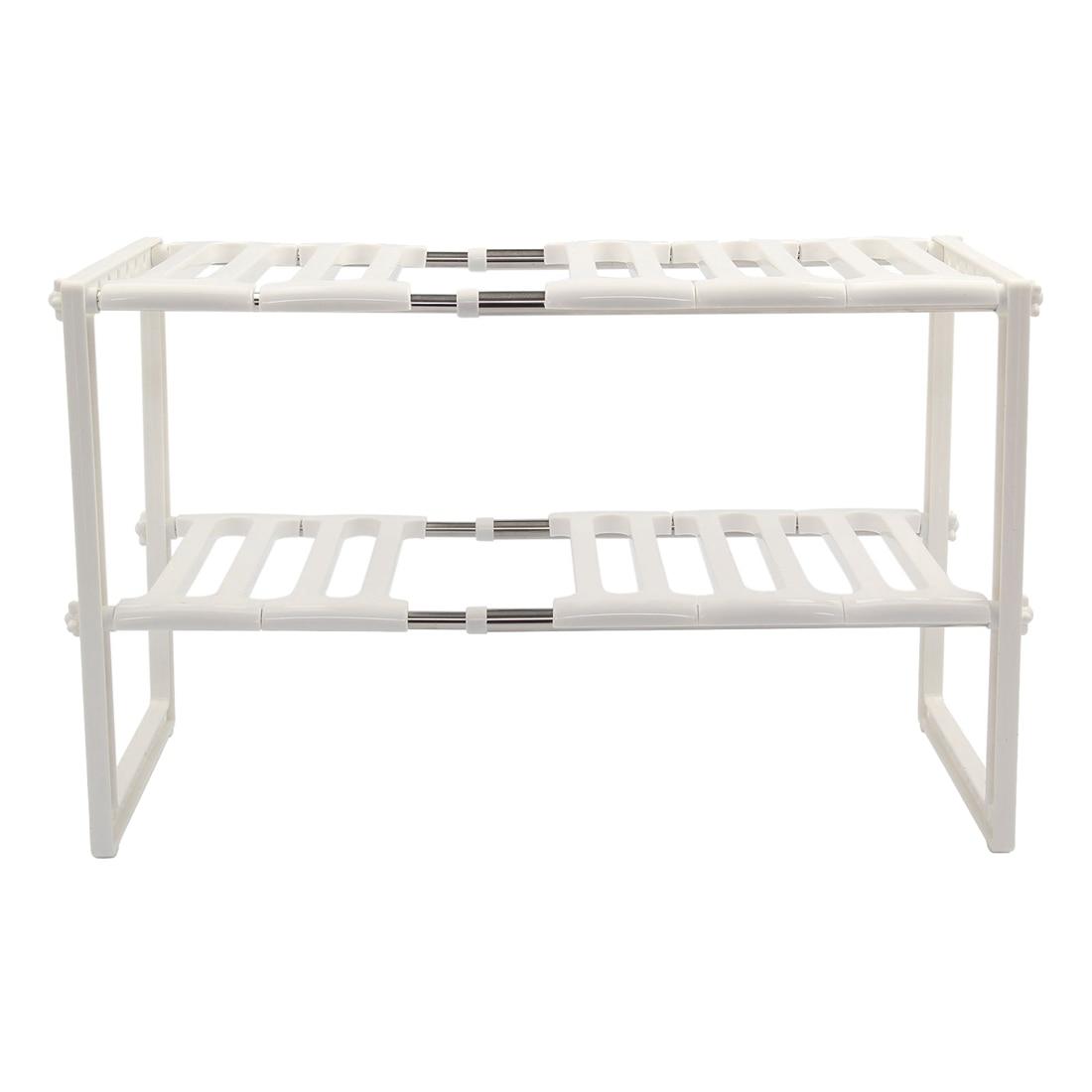 Best Kitchen Rack Organiser Adjustable Removeable Under Sink Storage Tidy Shelf Unit