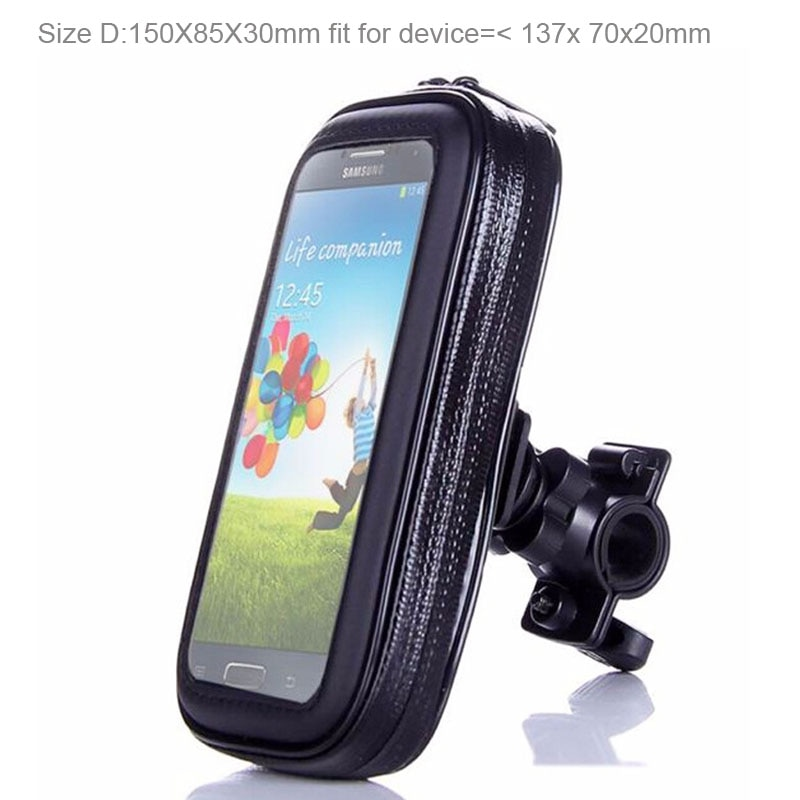 Fundas de teléfono móvil impermeables para bicicleta Yota YotaPhone 2, Wiko Pulp Fab, Selfy 4G, Lenny2 con pantalla táctil