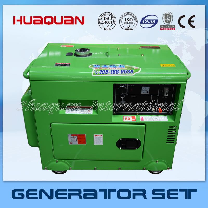 5kw single phase silent diesel generator set