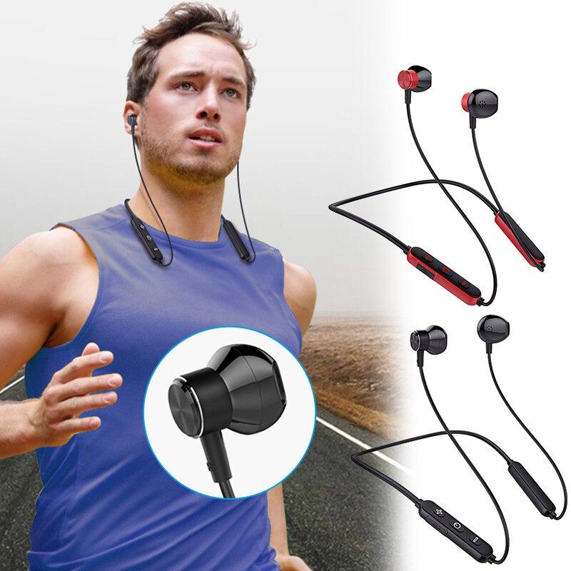 Wireless In-ear Bluetooth Earphone Portable Stereo Sound Waterproof for Outdoor Sports Hot Sale