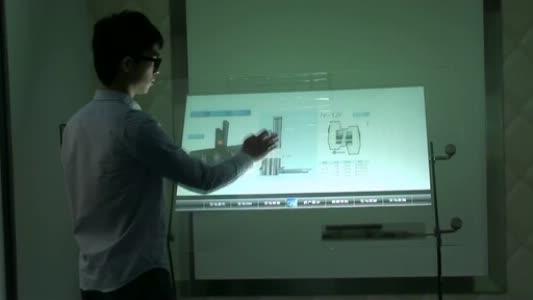 فيلم شاشة لمس متعدد اللمس ، شاشة لمس تفاعلية مقاس 40 بوصة ، 6 نقاط ، للشاشة التي تعمل باللمس ، كشك