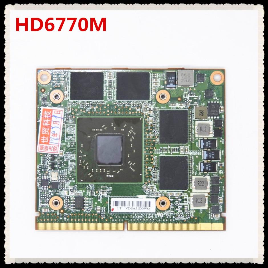 670940-001 HD6770M HD 6770M M5950 216-0810001 DDR5 1GB MXM A VGA tarjeta de Video para 8540W 8560W 8760w