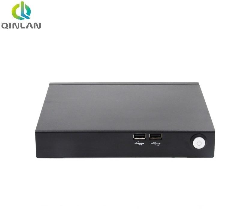 QINLAN Mini PC i7 4500U Dual Core 4 hilos Mini Nettop con USB VGA HDMI Windows/Linux PC Mini computadora