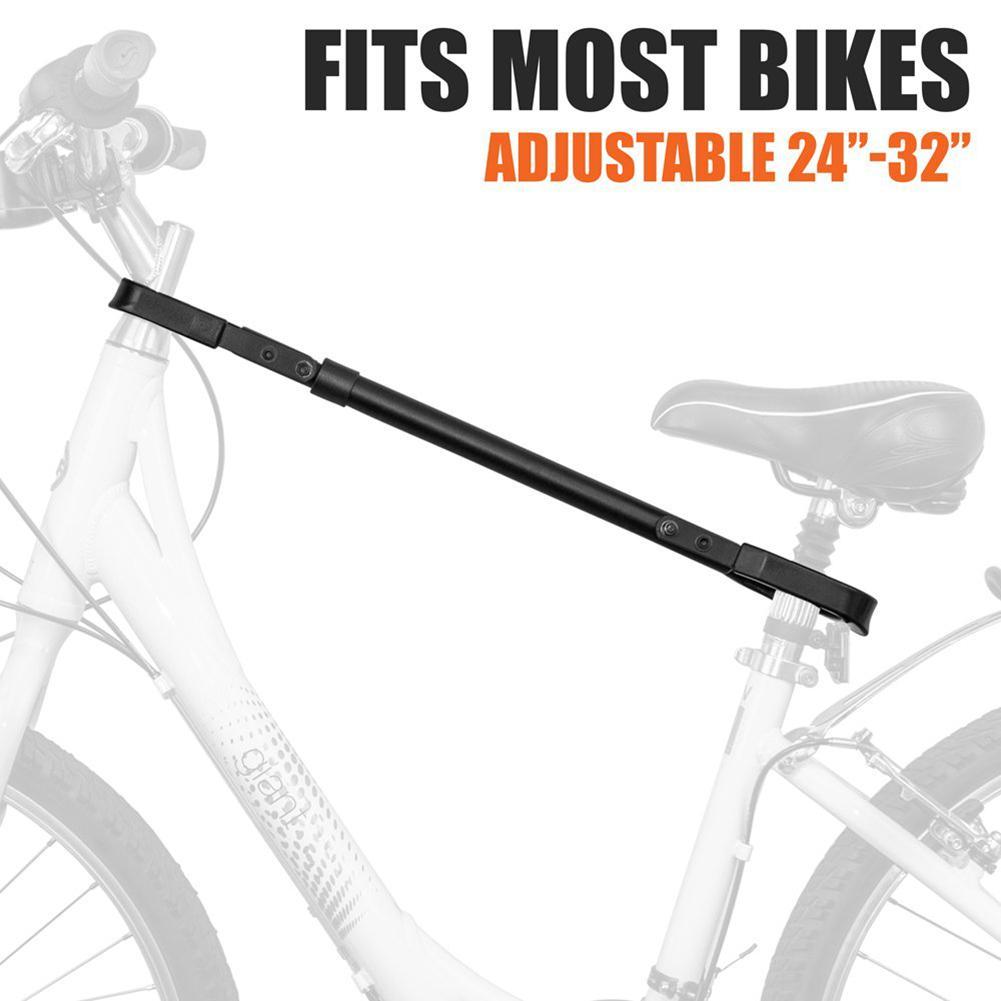 Soporte de tubo de barra cruzada soporte de tubo ajustable montado en el maletero adaptador de bicicleta Ridding accesorios bicicleta Cruz marco fijo