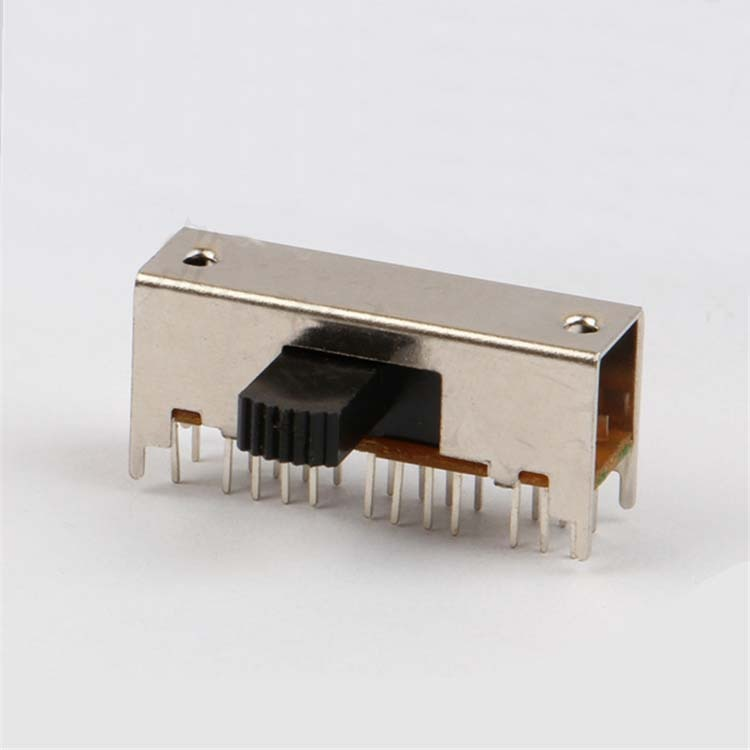 Interruptor de palanca de 2 velocidades 5 uds 4 pies fijos 24 pies horizontal SK-62H01 (6P2T)