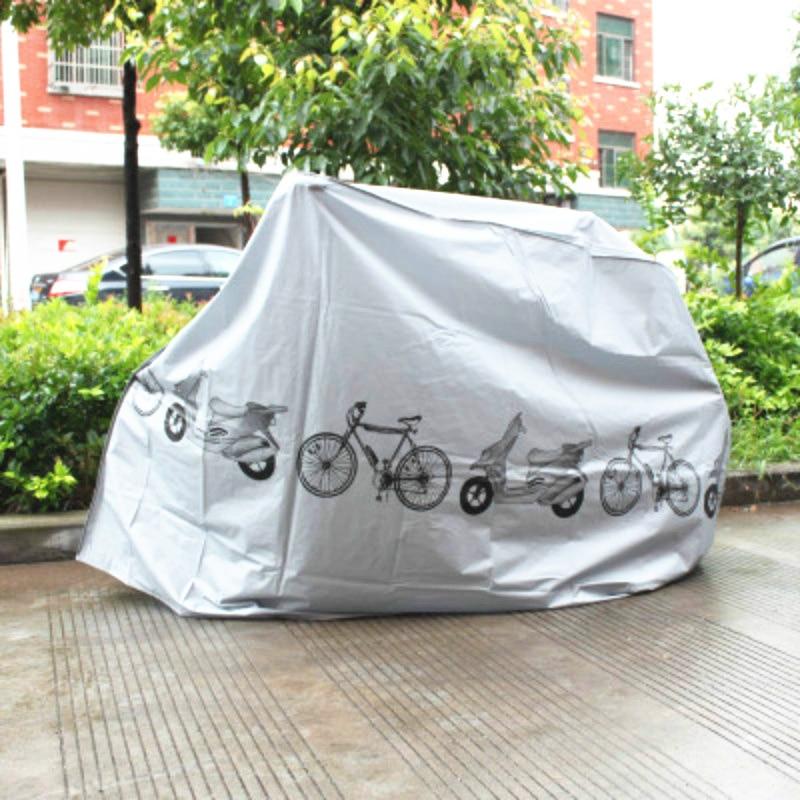 Bicicleta cubierta impermeable al aire libre portátil de la bici del Scooter de la lluvia de la motocicleta cubierta de polvo bicicleta proteger el equipo de ciclismo z4