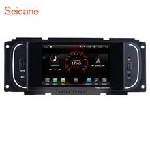 "Seicane Android 8.1 5"" Universal Multimedia Player Bluetooth GPS Radio for Chrysler 300m PT Cruiser JEEP Wrangler Dodge RAM 2500"