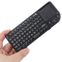 Оригинальная Беспроводная мини-клавиатура 2,4G воздушная мышь ручная сенсорная панель Клавиатура для смарт-ТВ для Samsung LG Android TV ПК ноутбука