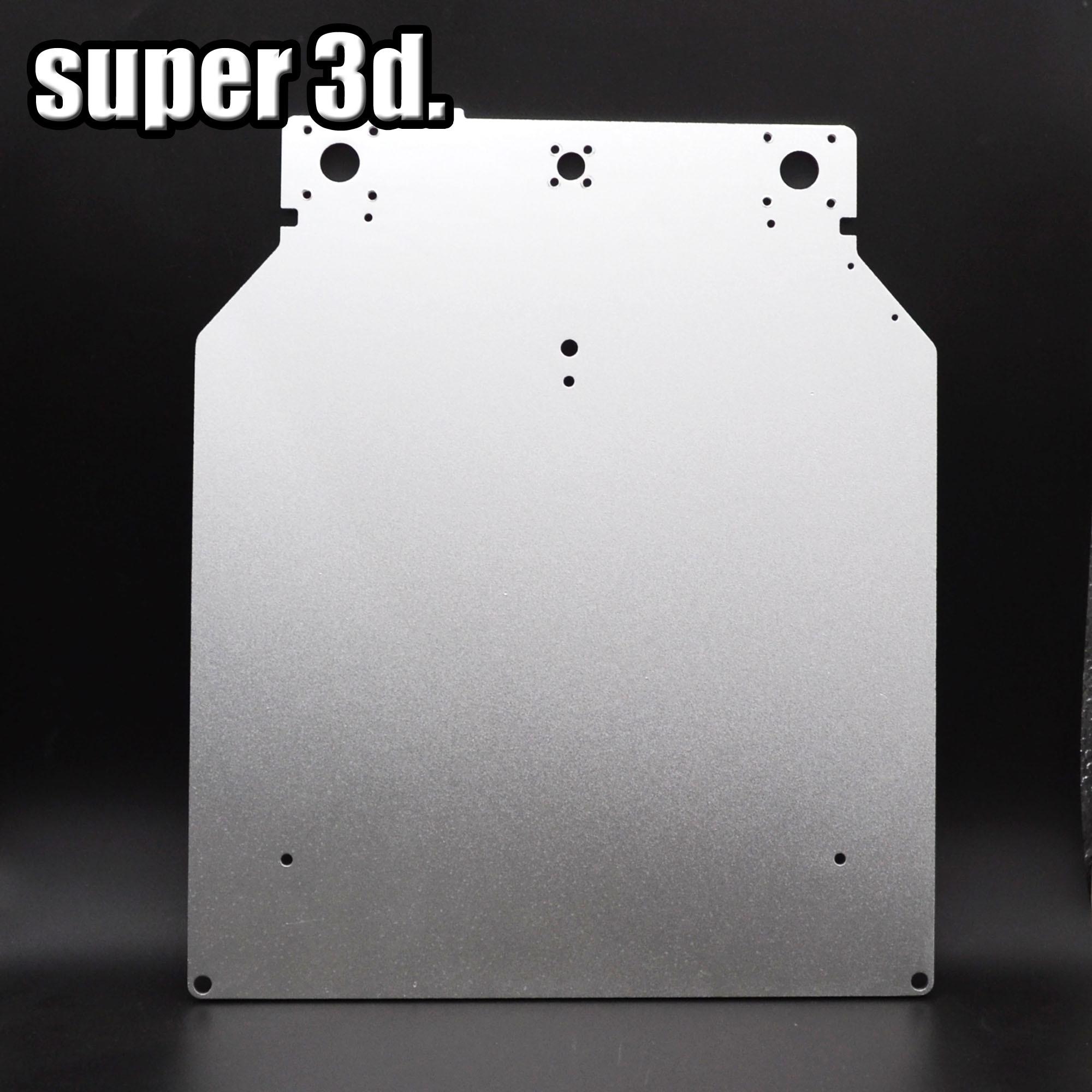 Impresora Ultimaker 2 UM2 Z الجدول قاعدة لوحة منصة دعم الألومنيوم الحرارة السرير لوحة ل طابعة ثلاثية الأبعاد أجزاء